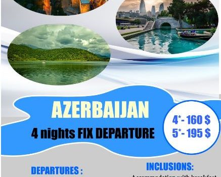 FIX Departure packages for Baku, Azerbaijan